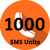 1000 SMS Units