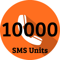 10000 SMS Units