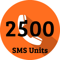 2500 SMS Units