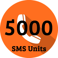 5000 SMS Units