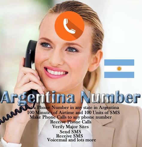 Argentina Phone Number