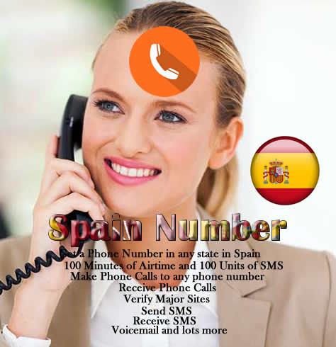 Spain Phone Number