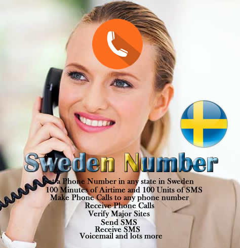 Sweden Phone Number